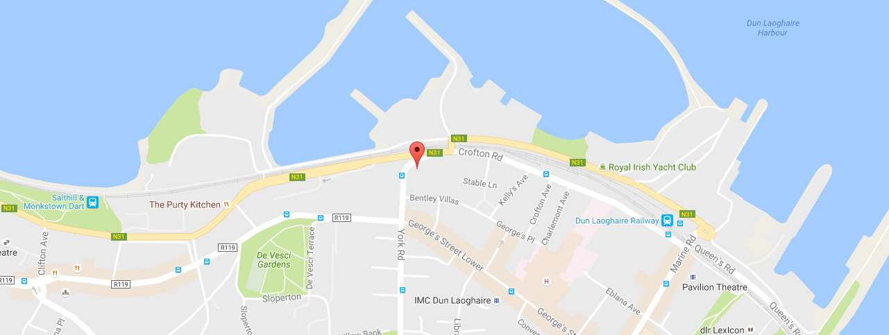 map | Kingstown College | life & executive coaching