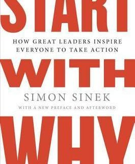 Start With Why by Simon Sinek - leadership coaching